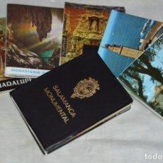 Postales: LOTE DE 6 LIBRITOS DE POSTALES VARIADOS - SIN CIRCULAR - SALAMANCA, VALENCIA, CORUÑA... - ENVÍO 24H. Lote 137306122