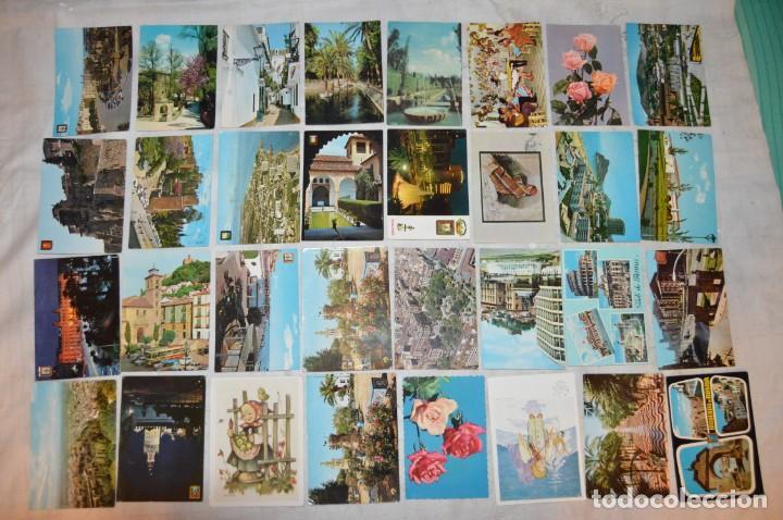 Postales: VINTAGE - LOTE MÁS DE 160 POSTALES CIRCULADAS - VALENCIA, MÁLAGA, SEVILLA, GRANADA, .... - ENVÍO 24H - Foto 2 - 137854390