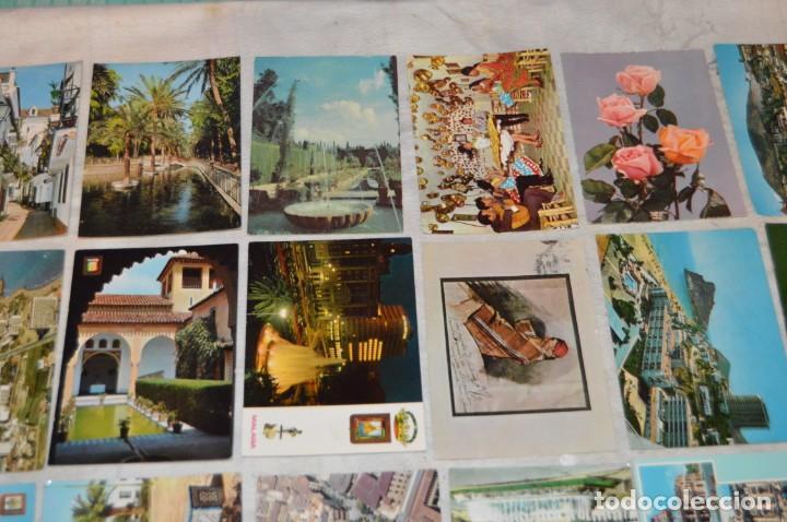 Postales: VINTAGE - LOTE MÁS DE 160 POSTALES CIRCULADAS - VALENCIA, MÁLAGA, SEVILLA, GRANADA, .... - ENVÍO 24H - Foto 4 - 137854390
