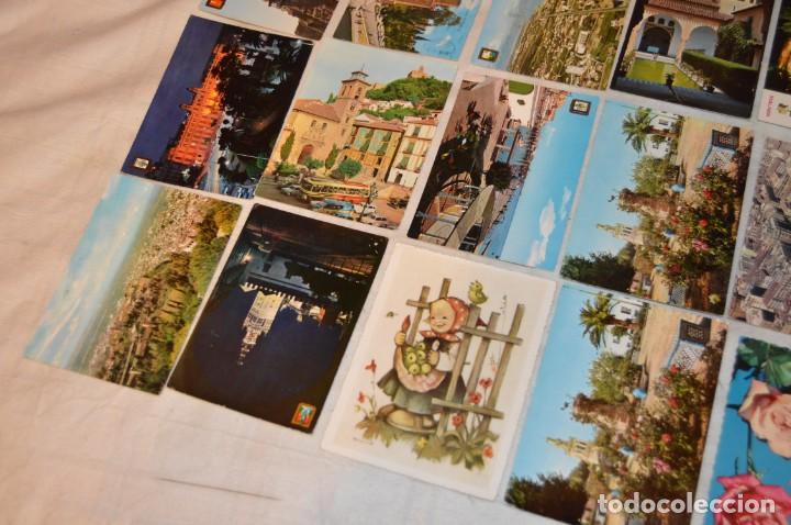Postales: VINTAGE - LOTE MÁS DE 160 POSTALES CIRCULADAS - VALENCIA, MÁLAGA, SEVILLA, GRANADA, .... - ENVÍO 24H - Foto 8 - 137854390