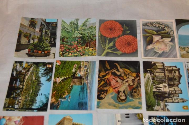 Postales: VINTAGE - LOTE MÁS DE 160 POSTALES CIRCULADAS - VALENCIA, MÁLAGA, SEVILLA, GRANADA, .... - ENVÍO 24H - Foto 15 - 137854390