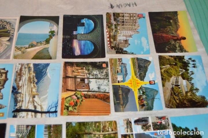 Postales: VINTAGE - LOTE MÁS DE 160 POSTALES CIRCULADAS - VALENCIA, MÁLAGA, SEVILLA, GRANADA, .... - ENVÍO 24H - Foto 16 - 137854390