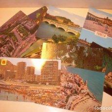 Postales: 13 POSTALES DE DISTINTAS POBLACIONES...VER FOTOS.. Lote 139596338