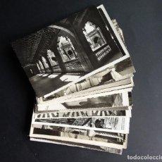 Postales: LOTE DE 42 POSTALES EN BLANCO Y NEGRO.... Lote 140781794