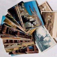 Postales: LOTE DE 100 POSTALES EN COLOR SIN CIRCULAR DE TODA ESPAÑA Y TRES B/N ANTIGUAS. Lote 141191862