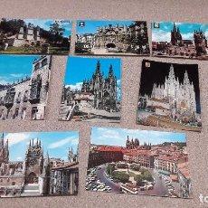 Postales: POSTALES...OCHO POSTALES DE BURGOS.... Lote 141222398