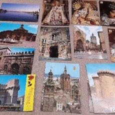 Postales: POSTALES.....TRECE POSTALES DE VALENCIA..... Lote 141291622