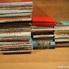 Postales: LOTE DE 57 BLOC DE POSTALES DE ESPAÑA VARIADAS. Lote 142269698