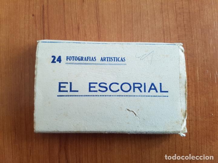 EL ESCORIAL - 24 FOTOGRAFÍAS ARTÍSTICAS - HELIOTIPIA B/N (Postales - España - Sin Clasificar Moderna (desde 1.940))