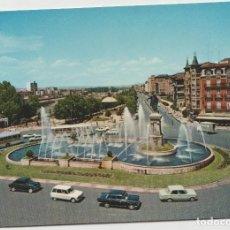 Postales: POSTALES POSTAL LEON COCHES AÑO 1970. Lote 145268422