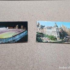 Postales: DOS ANTIGUAS POSTALES DE MADRID.....1965-1970... Lote 145736970