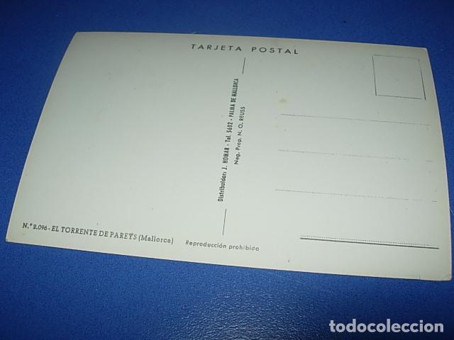 Postales: Espectacular postal de el Torrente de Pareys (Mallorca) J. Homar - Foto 2 - 147519618