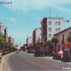 Postais: POSTALES POSTAL ANDUJAR JAEN AÑOS 70 COCHES. Lote 147856690