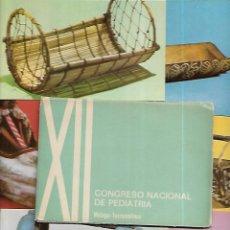 Postales: 6 POSTALES * CUNAS ANTIGUAS * CONGRESO NACIONAL PEDIATRÍA - TORREMOLINOS 1968. Lote 147899058