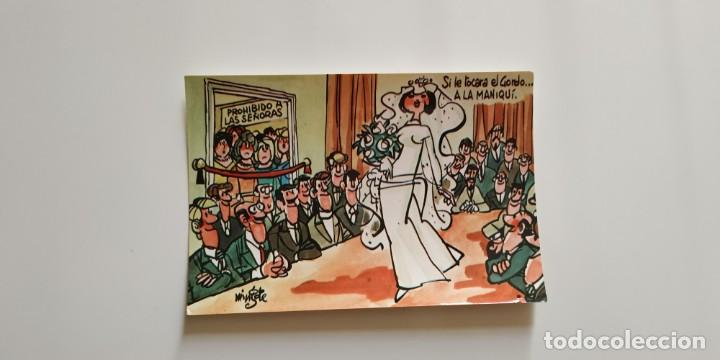 Postales: Tarjetas postales MINGOTE. Dibujos humorísticos - Foto 2 - 148516314