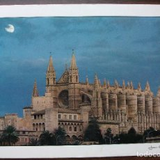 Postales: POSTAL LA CIUTAT DE MALLORCA. JOAN A. FARES (ESCRITA). Lote 149260734