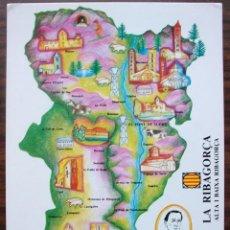 Postales: POSTAL LA RIBAGORCA ALTA I BAIXA RIBAGORÇA. ED.CONGRES CULTURA CATALANA . SIN CIRCULAR. Lote 149261530