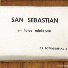 Postales: PAQUETE CON 24 FOTOGRAFÍAS 6X9 CM. EN FOTOS MINIATURA. MANIPEL. BUEN ESTADO. 6X10 CM. . Lote 149353650