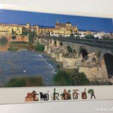 Postales: POSTAL DE CÓRDOBA - PUENTE ROMANO Y MEZQUITA . Lote 150483990