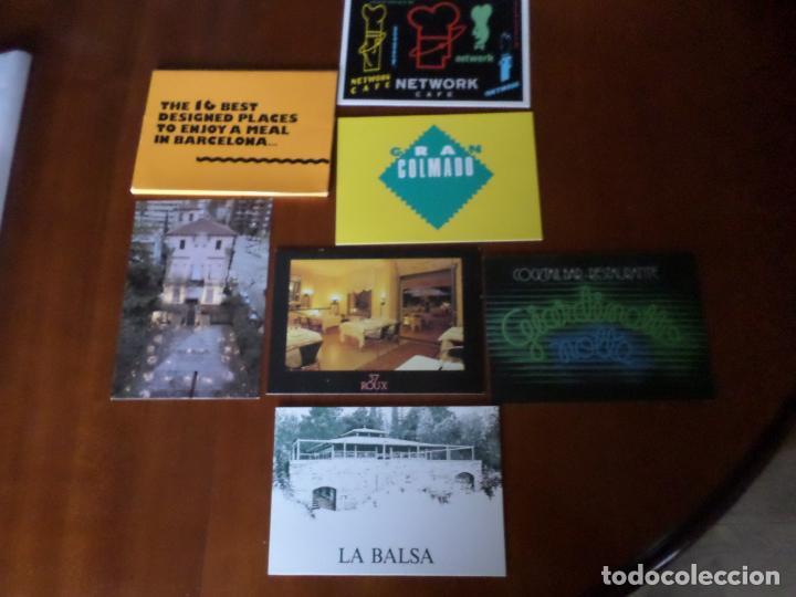 6 POSTALES DE DISEÑO DE BARCELONA (Postales - España - Sin Clasificar Moderna (desde 1.940))