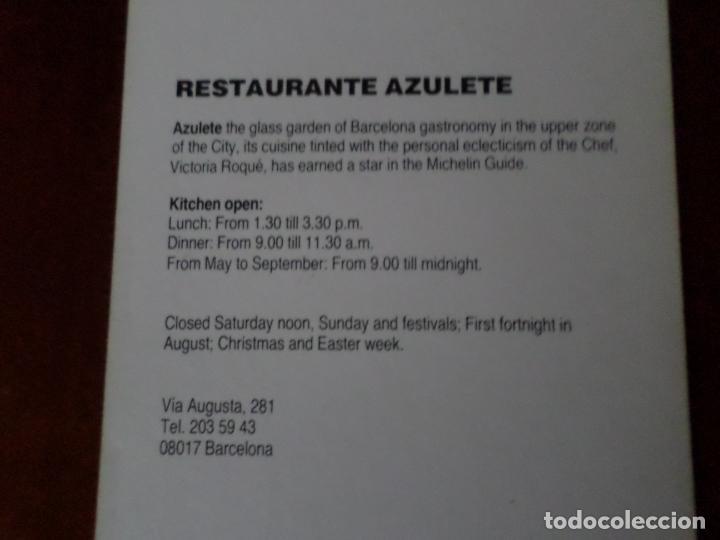 Postales: 6 POSTALES DE DISEÑO DE BARCELONA - Foto 13 - 150649314