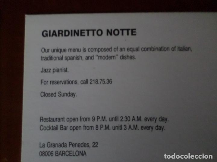 Postales: 6 POSTALES DE DISEÑO DE BARCELONA - Foto 15 - 150649314