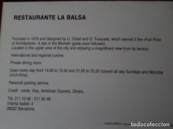 Postales: 6 POSTALES DE DISEÑO DE BARCELONA - Foto 17 - 150649314