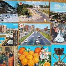 Postales: 22 POSTALES AÑOS 60-70. Lote 151736538