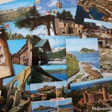 Postales: LOTE DE MÁS DE 140 POSTALES DE DISTINTAS LOCALIDADES DE ESPAÑA, AÑOS 1940-1970S, TODAS CIRCULADAS. . Lote 152560878
