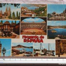 Postales: POSTAL Nº 820 ESPAÑA RECUERDO DE ESPAÑA DIVERSAS IMAGENES TURISTICAS. Lote 155410930