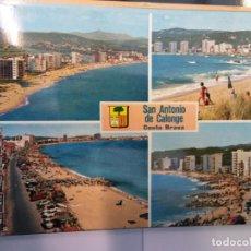 Postales: BJS.LINDA POSTAL SAN ANTONIO DE CALONGE - COSTA BRAVA.CIRCULADA.COMPLETA TU COLECCION.. Lote 155915174
