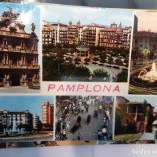Postales: BJS.LINDA POSTAL PAMPLONA.ESCRITA.COMPLETA TU COLECCION.. Lote 155915474