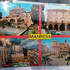 Postales: BJS.LINDA POSTAL MANRESA - BARCELONA.ESCRITA.COMPLETA TU COLECCION.. Lote 155916322