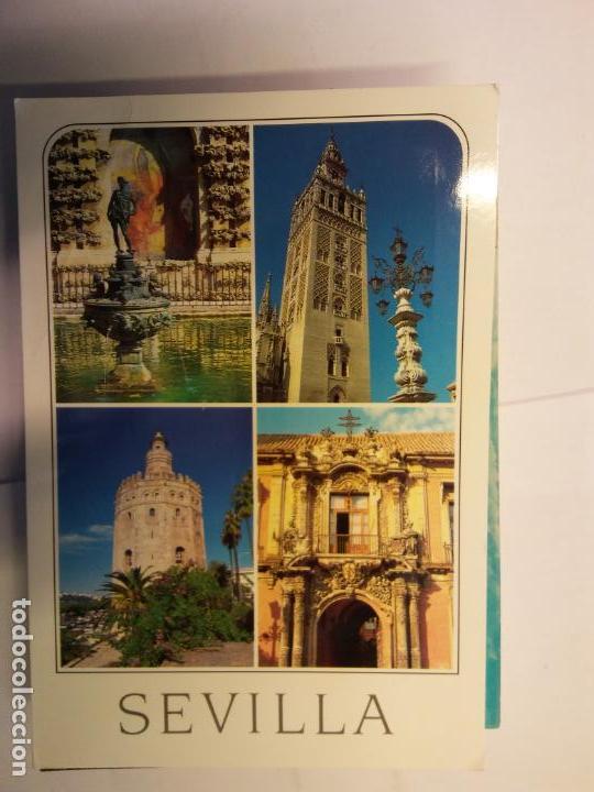 BJS.LINDA POSTAL SEVILLA.CIRCULADA.COMPLETA TU COLECCION. (Postales - España - Sin Clasificar Moderna (desde 1.940))