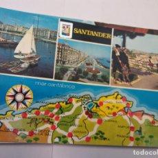 Cartes Postales: BJS.LINDA POSTAL PUERTO CHINO - SANTANDER.ESCRITA.COMPLETA TU COLECCION.. Lote 156046082