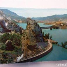 Cartes Postales: BJS.LINDA POSTAL PANTANO DE LA PEÑA.ESCRITA.COMPLETA TU COLECCION.. Lote 156135298