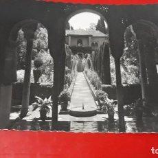 Postales: GRANADA GENERALIFE PATIO DE LA ACEQUIA GARRABELLA Nº 85. Lote 156298278