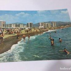 Postales: TORRE DEL MAR Nº 391. VISTA PARCIAL DE LA PLAYA.. Lote 158792274