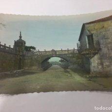 Postales: CAMBADOS (PONTEVEDRA). ARCO DEL PALACIO DE FEFIÑANES.. Lote 159030594