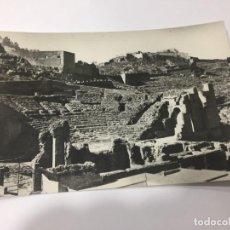 Postales: SAGUNTO. VISTA DEL TEATRO ROMANO Y CASTILLO. . Lote 159030886