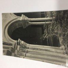 Postales: REAL MONASTERIO DE POBLET. CLAUSTRO: DETALLE DE CAPITELES S. XII-XIII. 1958. Lote 159034846