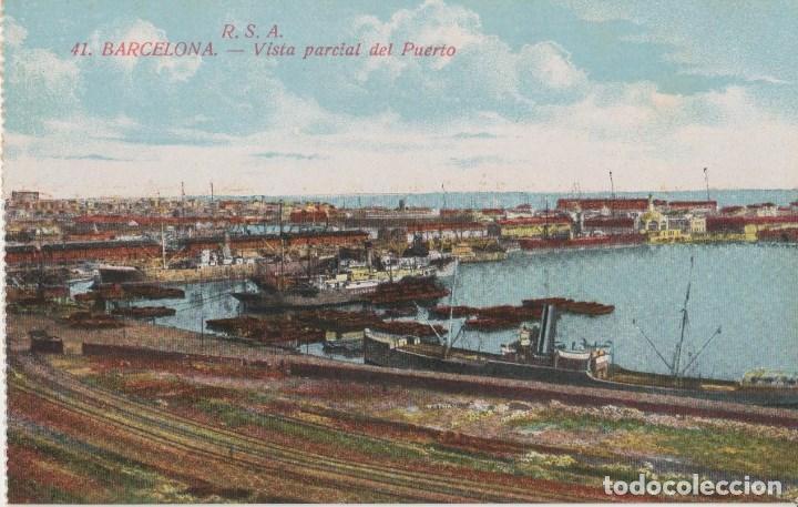 POSTALES POSTAL BARCELONA 1900 FUNICULAR (Postales - España - Sin Clasificar Moderna (desde 1.940))