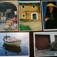 Postales: 5 POSTALES MEDITERRANIA FOTOGRAFO RICARD PLA Y MELBA LEVICK NUMEROS -680, 077, 224, 790, 438. Lote 159271318