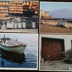 Postales: 4 POSTALES MEDITERRANIA FOTOGRAFO RICARD PLA NUMEROS -125, 077, 224, 788. Lote 159272134