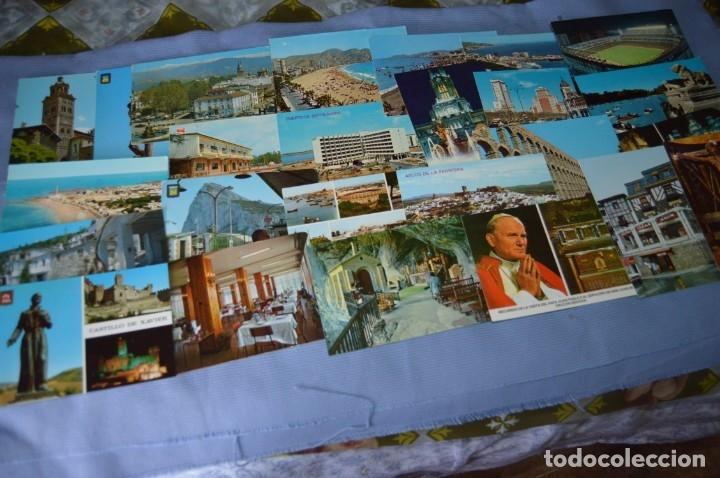 Postales: Gran lote de POSTALES de 190 POSTALES - ESPAÑA VARIADA - De los años 50 a los 80 - Foto 2 - 160612205
