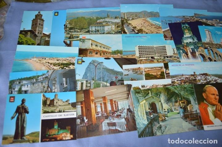 Postales: Gran lote de POSTALES de 190 POSTALES - ESPAÑA VARIADA - De los años 50 a los 80 - Foto 3 - 160612205
