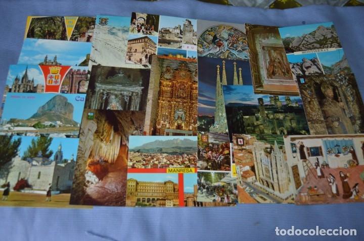 Postales: Gran lote de POSTALES de 190 POSTALES - ESPAÑA VARIADA - De los años 50 a los 80 - Foto 5 - 160612205