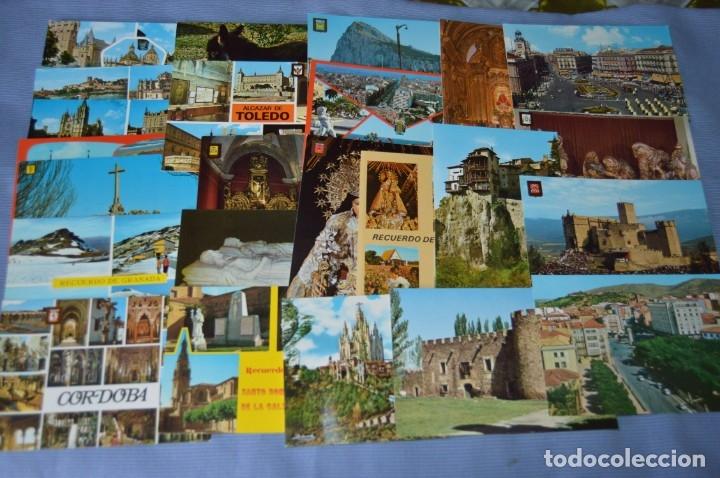 Postales: Gran lote de POSTALES de 190 POSTALES - ESPAÑA VARIADA - De los años 50 a los 80 - Foto 6 - 160612205
