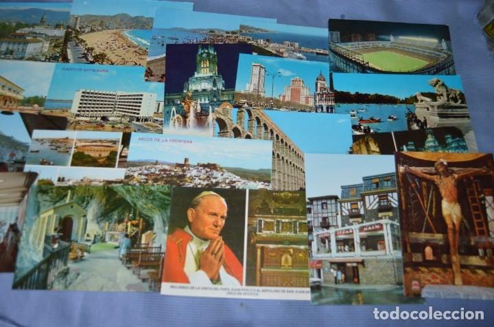 Postales: Gran lote de POSTALES de 190 POSTALES - ESPAÑA VARIADA - De los años 50 a los 80 - Foto 4 - 160612205