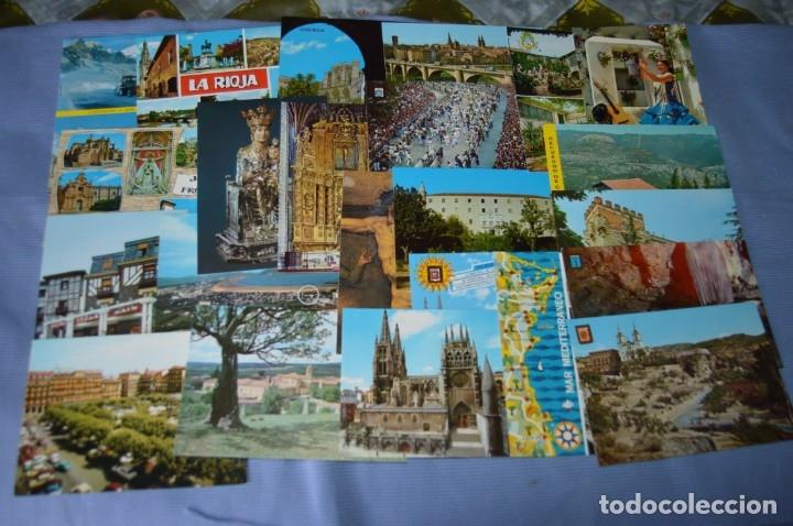 Postales: Gran lote de POSTALES de 190 POSTALES - ESPAÑA VARIADA - De los años 50 a los 80 - Foto 7 - 160612205